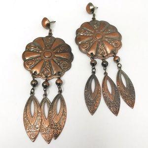 Vintage Boho Statement Earrings